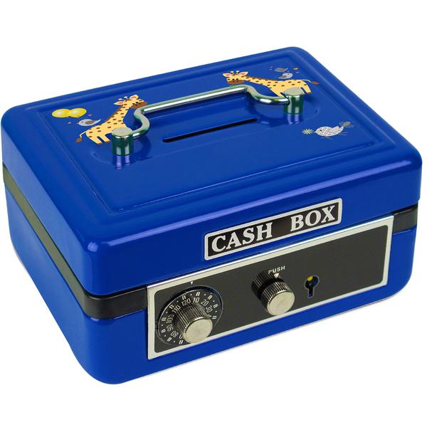 Personalized Giraffe Cash Box