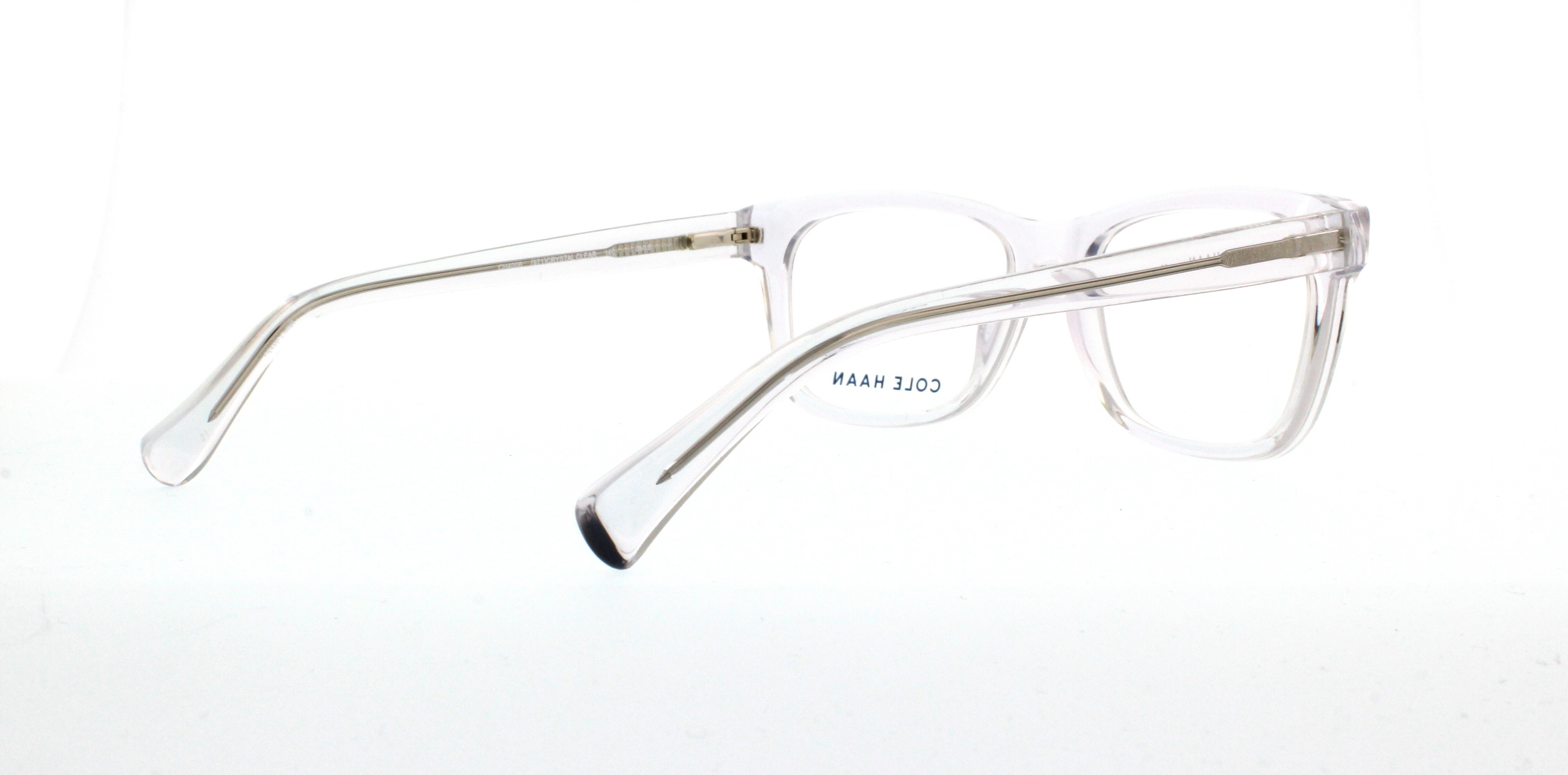 927d0df7a98 COLE HAAN Eyeglasses CH4008 971 Crystal Clear 52MM - Walmart.com