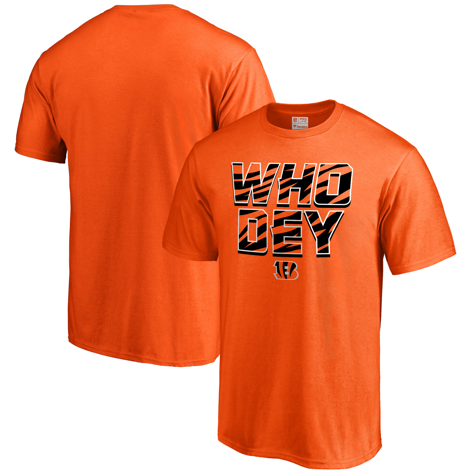 Cincinnati Bengals NFL Pro Line Hometown Collection T-Shirt - Orange