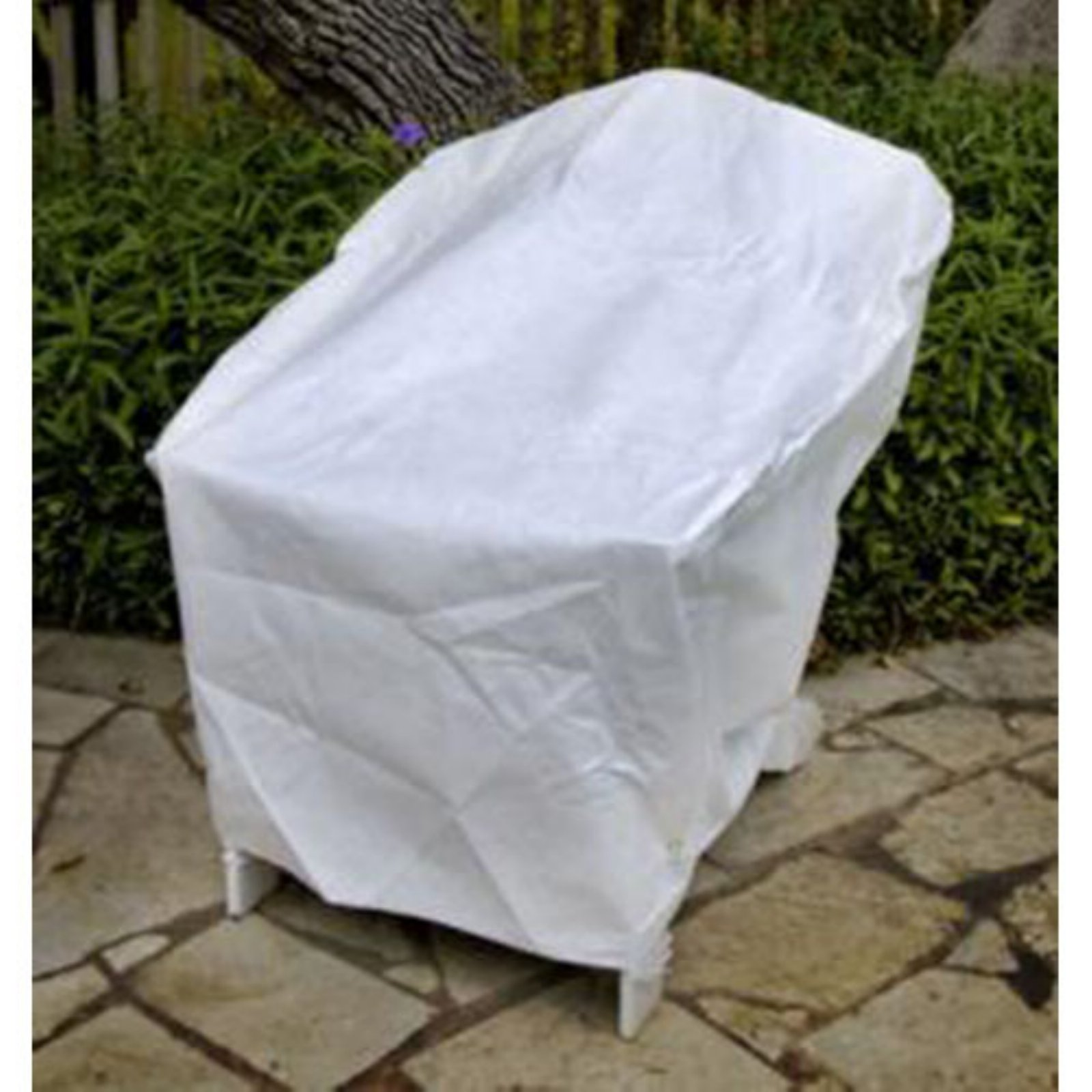 KoverRoos DuPont Tyvek White Adirondack Chair Cover by KoverRoos