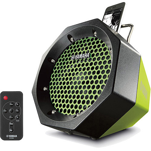 Yamaha PDX 11 Portable Speaker System For IPod/iPhone, Green