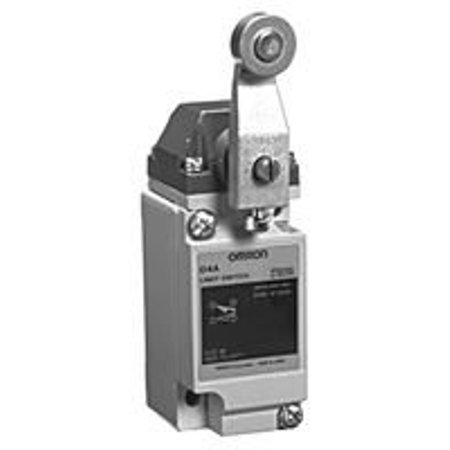Compact Limit Switch (OMRON INDUSTRIAL AUTOMATION D4A-2501-N LIMIT SWITCH, ROLLER LEVER,)