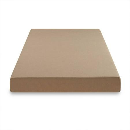 spa sensations 5 khaki memory foam youth mattress twin best memory foam mattresses. Black Bedroom Furniture Sets. Home Design Ideas