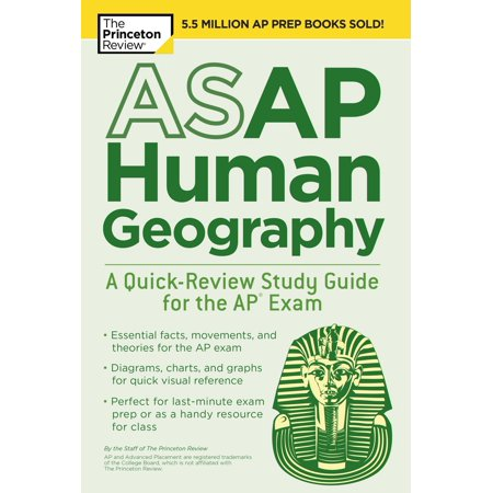 ASAP Human Geography: A Quick-Review Study Guide for the AP Exam -