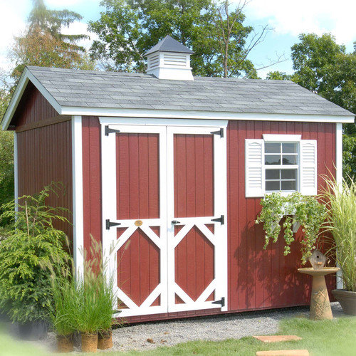 Little Cottage Company 8 Ft. W x 8 Ft. D Wood Garden Shed