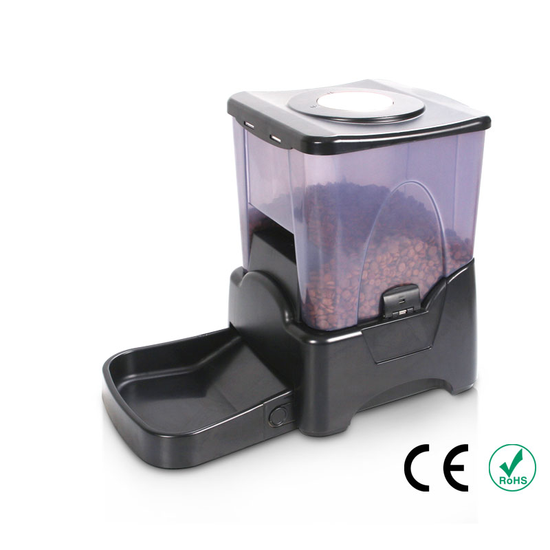 Zimtown 10.65L Automatic Electronic Pet Feeder Auto Dog Cat Food Bowl Dispenser