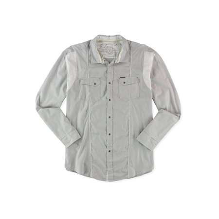 Marc Ecko Mens Holiday 2 Button Up Shirt