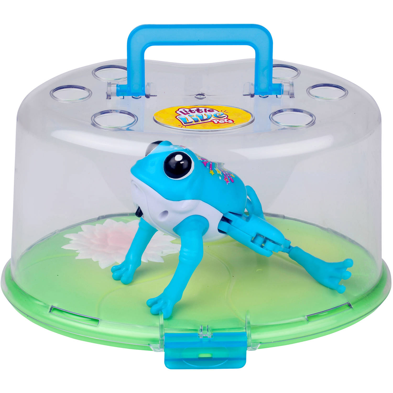 Little Live Pets S1 Lil\' Frog Lilypad - Walmart.com