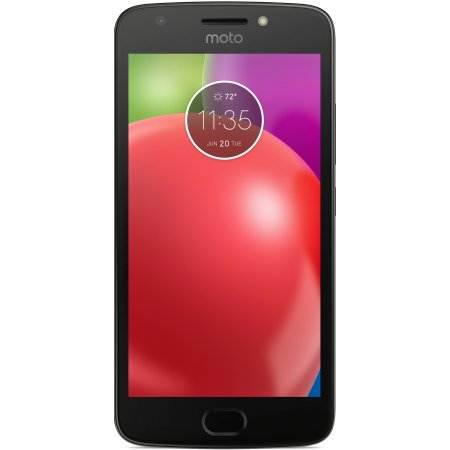 Verizon Motorola E4 16GB Prepaid Smartphone, Black