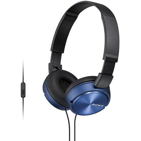 Sony Over The Head Headset - Sony MDRZX310AP ZX Series Headband Stereo Headset --