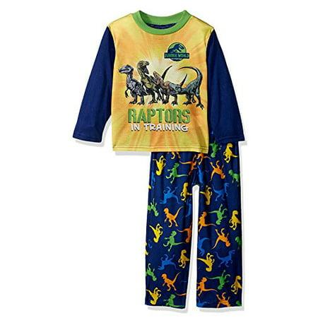 c81ddb43291d Jurassic World - Jurassic World Raptor Dinosaur Toddler Boys Pajamas ...