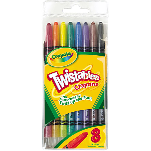 Crayola Twistable Crayons, 8-Count