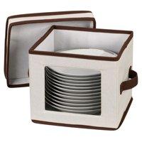 Household Essentials Window Vision Dessert Plate/Bowl Chest