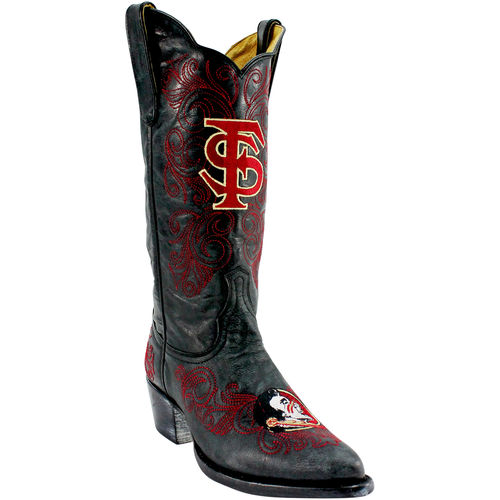 "Gameday Boots Womens Western 13"" Florida State Black FSU-L324-1 by Gameday Boots"