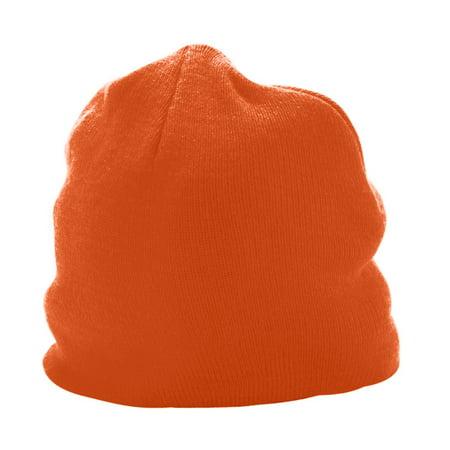 6815 Knit Beanie ORANGE OS - Neon Orange Accessories