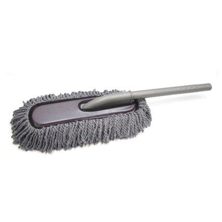 Dark Purple Gray Microfiber Auto Car Washing Brush Wax Mop