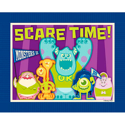 Springs Creative Disney Monsters Scare Students No Sew Fleece Throw Kit
