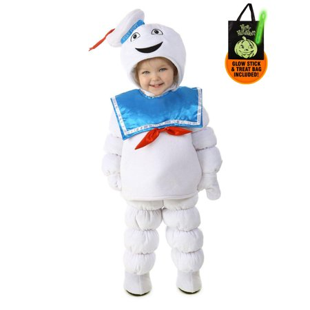 Ghostbusters Stay Puft Toddler Costume Treat Safety Kit - Toddler Ghostbusters Costume