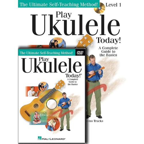 Hal Leonard Play Ukulele Today! Level 1 Beginner's Pack (Book/CD/DVD)