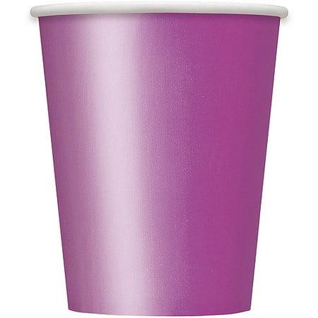 Paper Cups, 9 oz, Purple, 14ct (Purple Paper Cup)