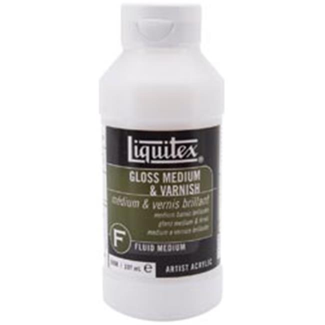liquitex gloss acrylic fluid medium varnish 8oz