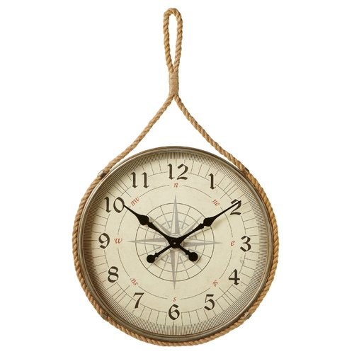 Breakwater Bay Oversized Weitzman Compass 25.25'' Wall Clock