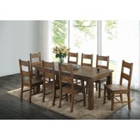 Coleman Rustic Golden Brown Dining Chair, Set of Two