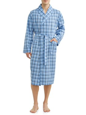 Hanes Men's and Big Men's Woven Shawl Robe
