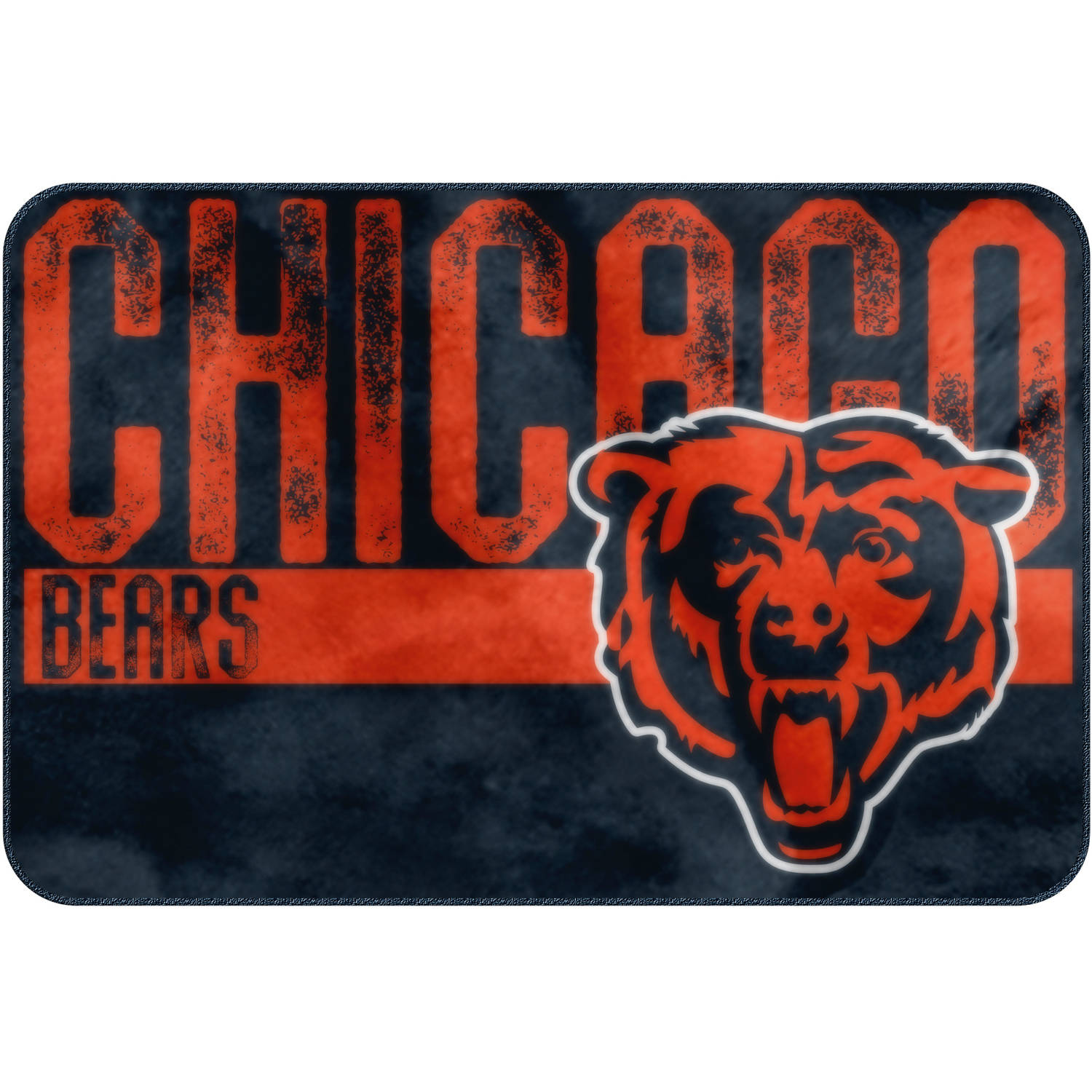 "NFL Chicago Bears ""Worn Out"" Mat, 20"" x 30"""