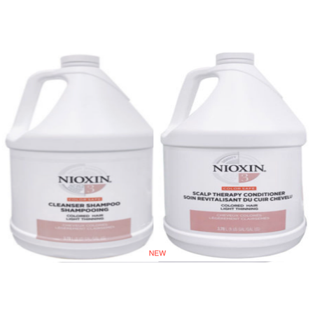 Nioxin System 3 Cleanser Gallon Amp Scalp Therapy Gallon Set