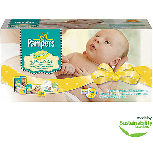 Pampers Swaddlers Diapers Mom Gift Set, Newborn Size