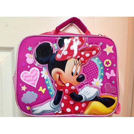 Disney Minnie Mouse Lunch Box - BRAND NEW - Licensed Product By Ruz
