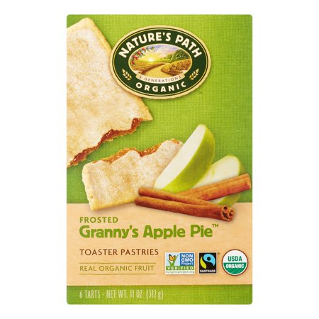 - Natures Path Toaster Pastries, Frosted Granny Apple Pie, 1.83 Oz, 6 Count
