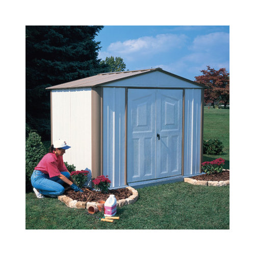 Bundle-90 Arrow Ezee  Steel Storage Shed (2 Pieces)