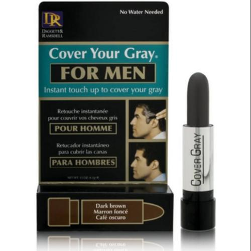 Cover Your Gray for Men Dark Brown, 0.15 oz (Pack of 2)