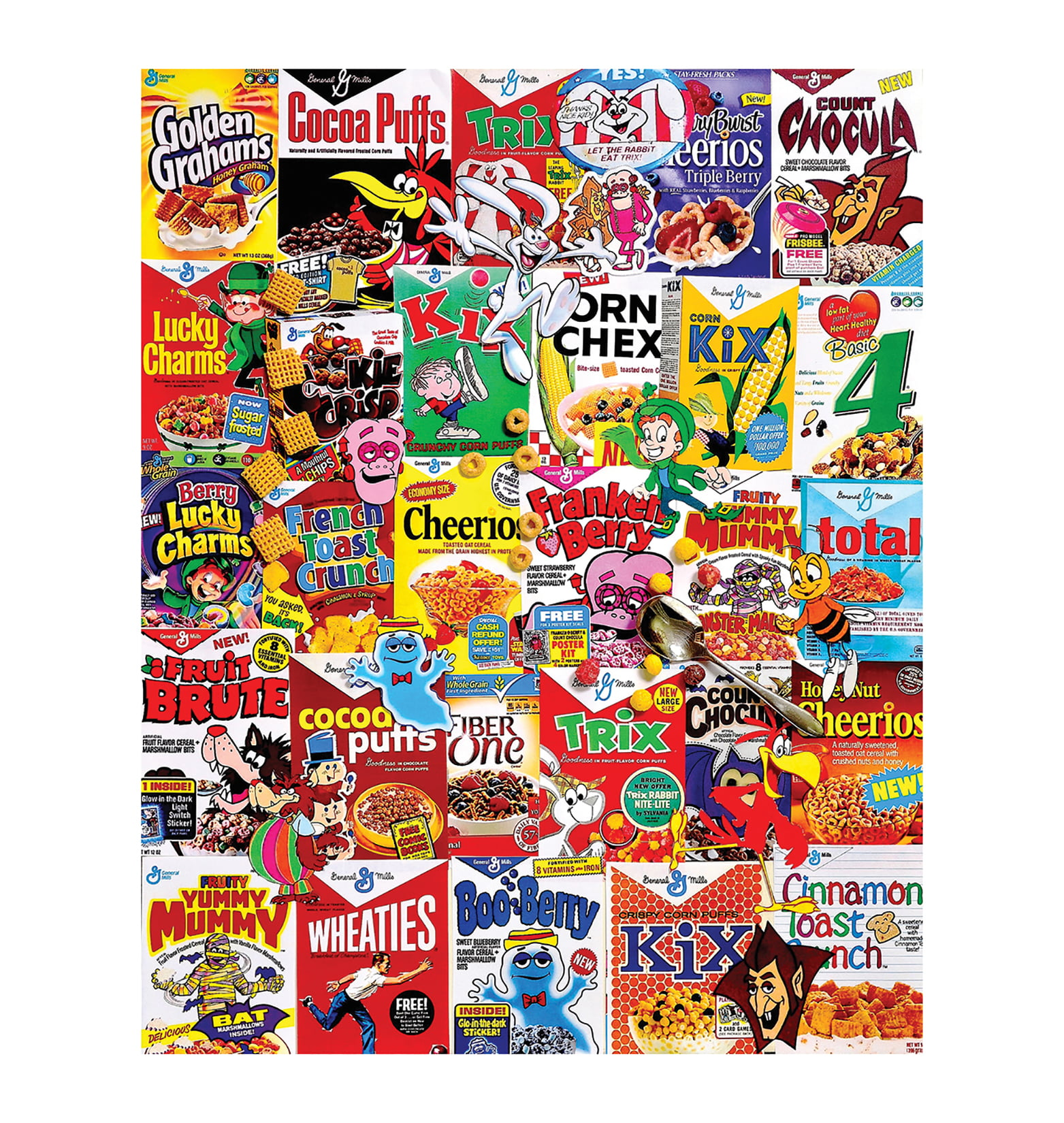 White Mountain Puzzles Cereal Boxes 1000 Piece Jigsaw Puzzle by White Mountain Puzzles