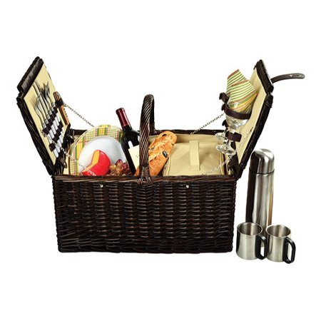 Ascot Coffee (Picnic at Ascot Buckingham Basket for Four with Coffee  16