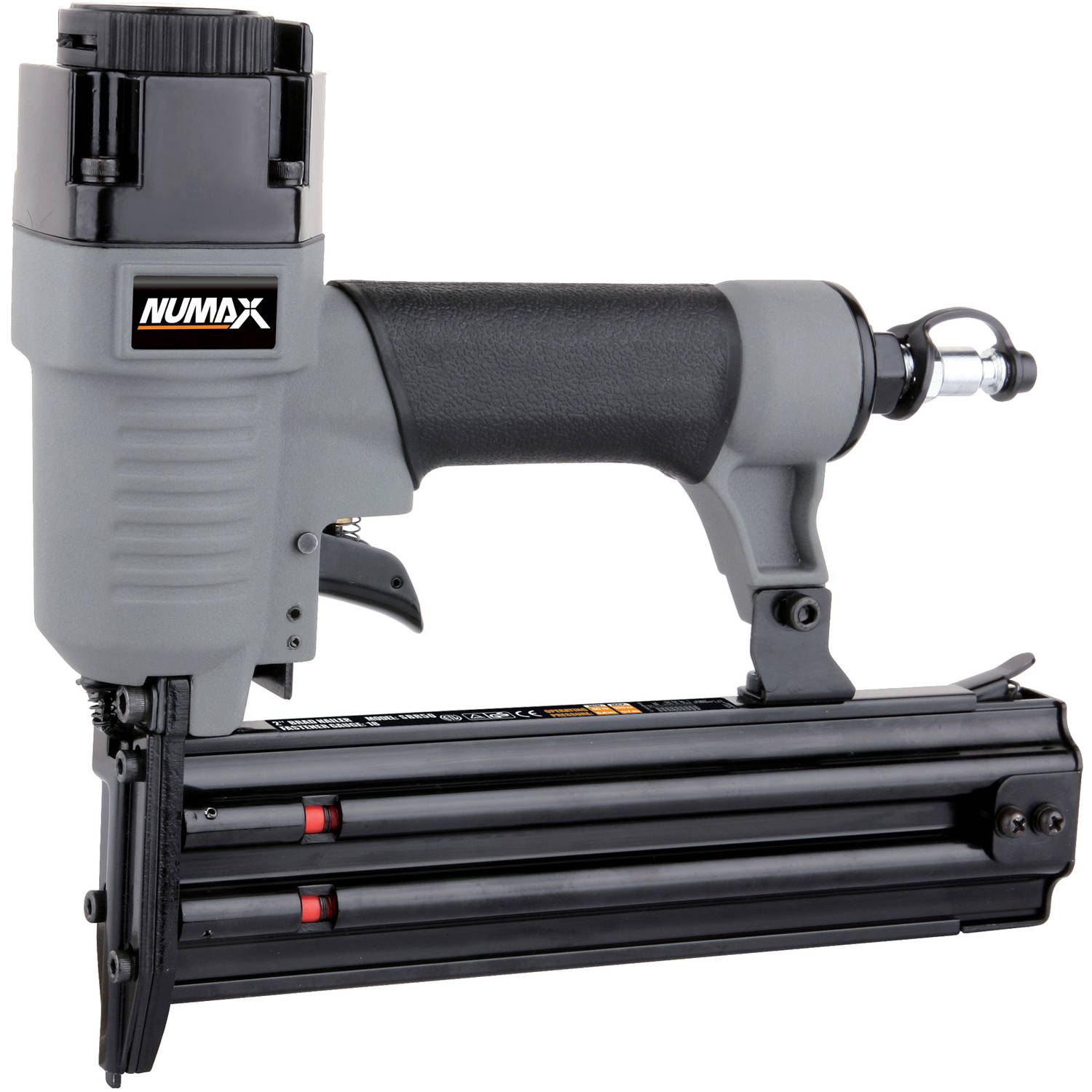 "NuMax SBR50 Pneumatic 18-Gauge 2"" Straight Brad Nailer"