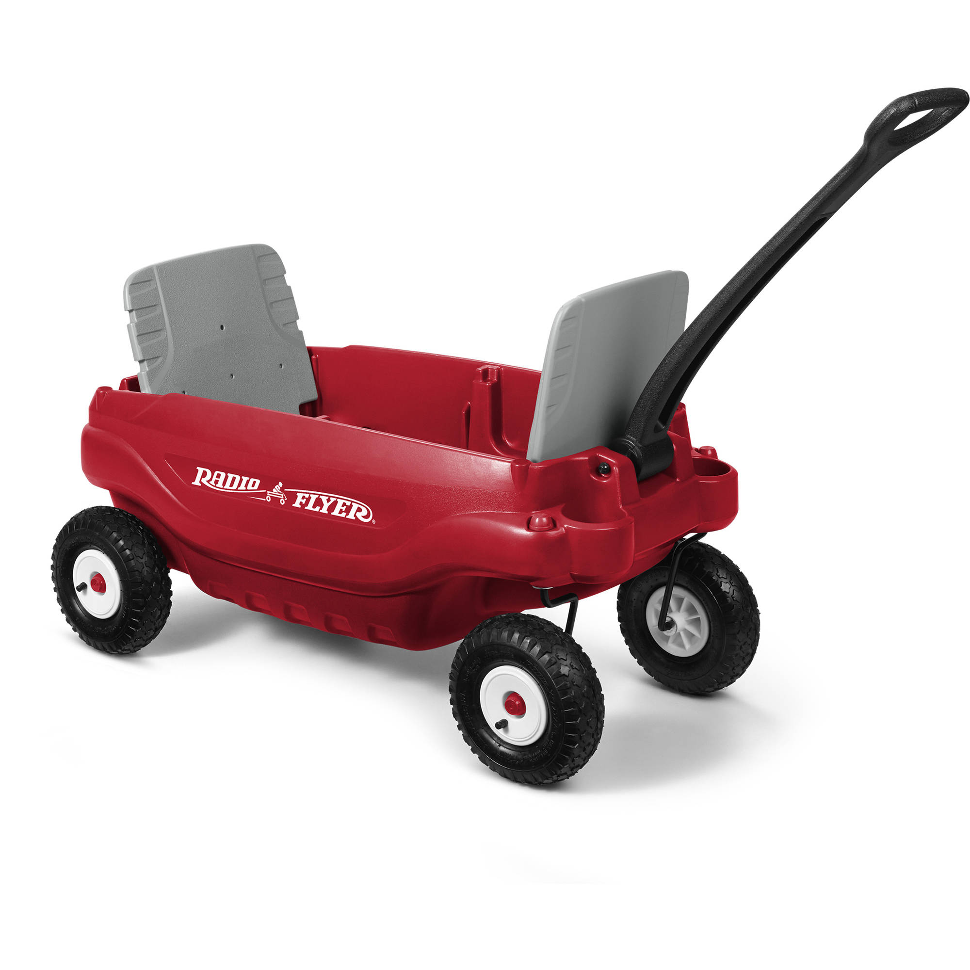 Radio Flyer, All-Terrain 5-in-1 Wagon, Air Tires, Red by Radio Flyer Inc.