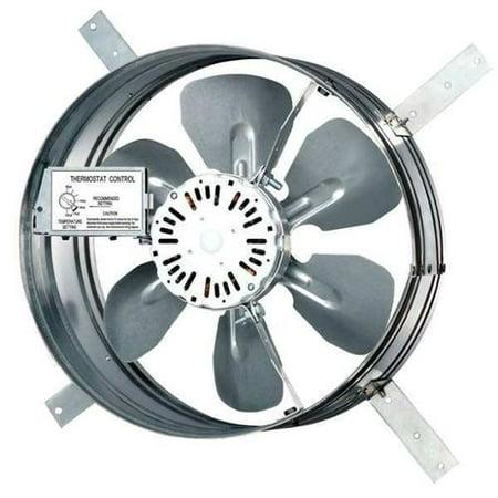 Dayton 1650 CFM Gable Mount Attic Fan, 120V, 10W199