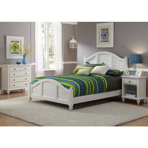 Home Styles Bermuda King Bed Nightstand and Chest, Multiple Colors