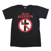 Bad Religion Distressed Crossbuster T-Shirt Large