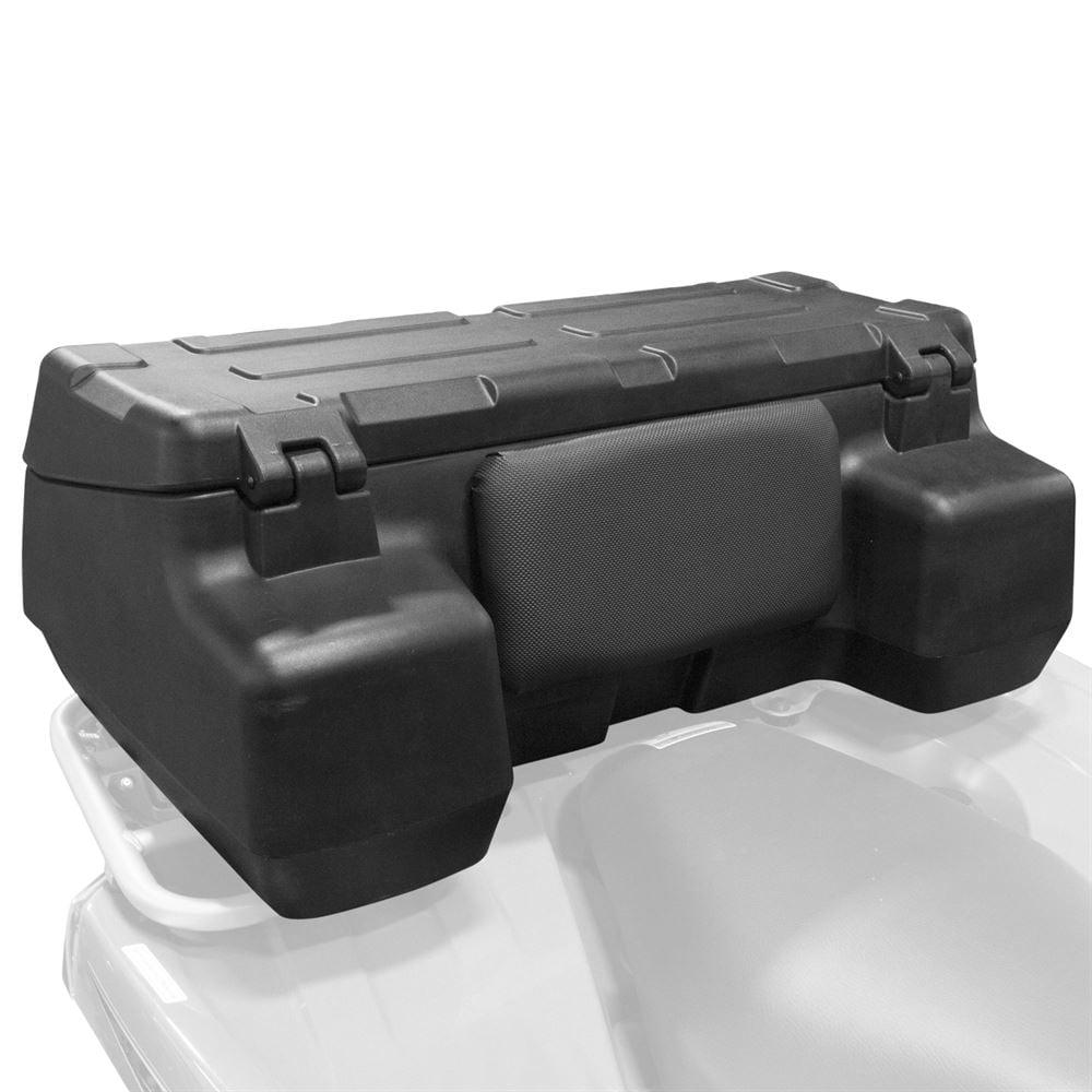 ATV Quad Rear Rack Backrest Cargo Box
