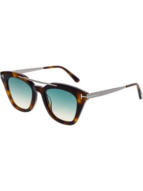 Product Image Tom Ford Women s Gradient FT0575-53P-49 Brown Cat Eye  Sunglasses 87509c5203c
