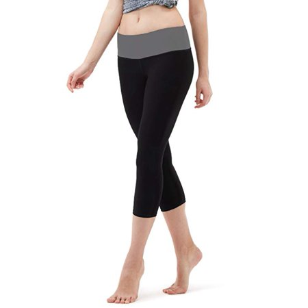 Workout Womens Capris - Active Workout Capri Leggings, Yoga Pants For Women
