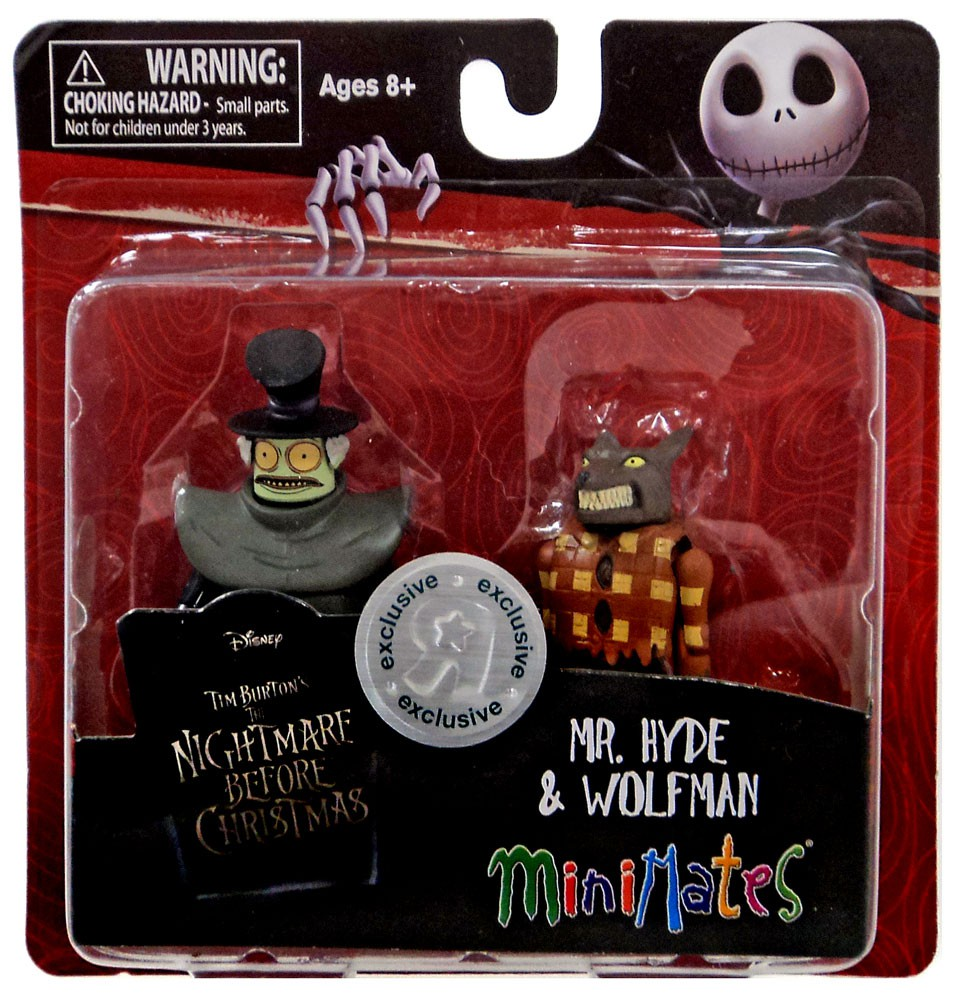 Nightmare Before Christmas Minimates Mr Hyde Wolfman Minifigure 2 Pack Walmart Com Walmart Com Hyde appears as one of the citizens of halloween town. walmart com