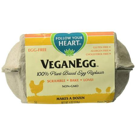 (VeganEgg by Follow Your Heart, 4-Ounce Carton Egg Replacer)