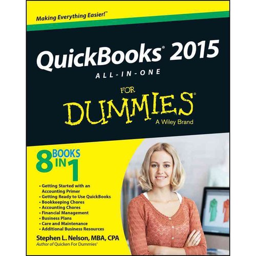 Quickbooks All-in-One for Dummies 2015