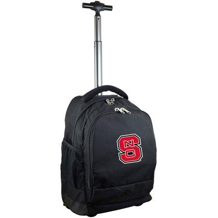 Mojo Licensing Premium Wheeled Backpack - North Carolina State