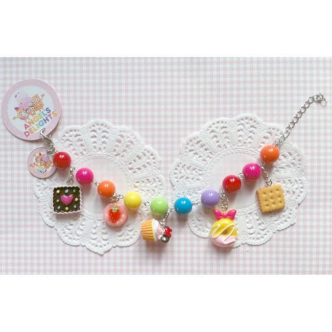 Angels Delights AD1513 Bubblegum Charm Bracelet